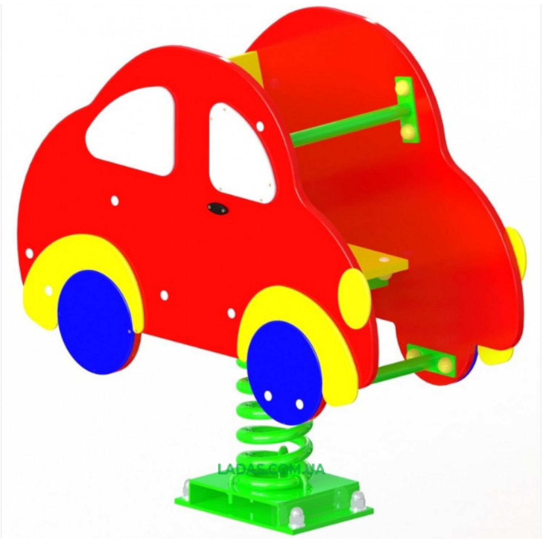 Качалка-балансир на пружине Авто (под бетонирование)