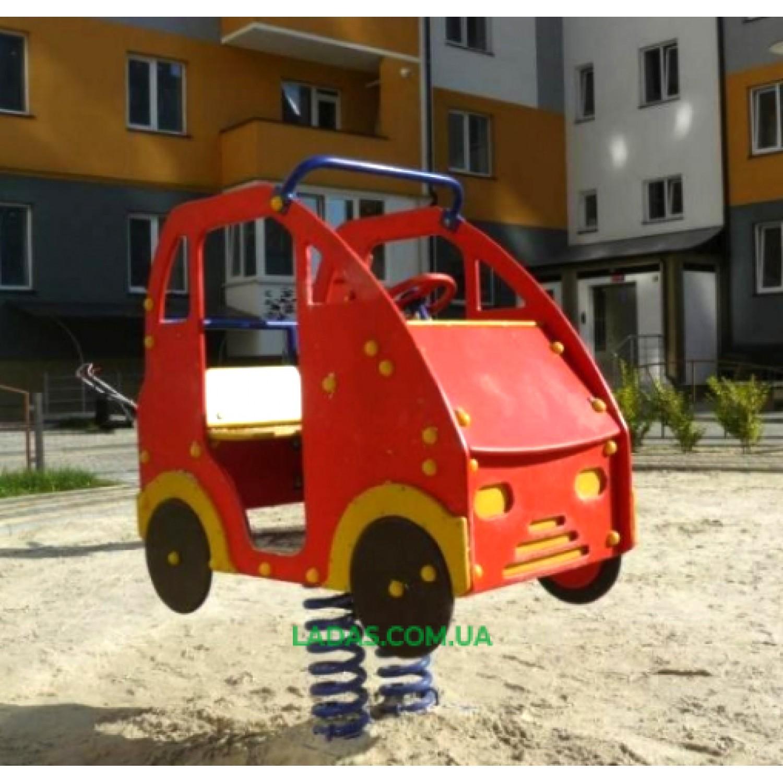 Качалка-балансир на пружине Машинка DIO113 (под бетонирование)