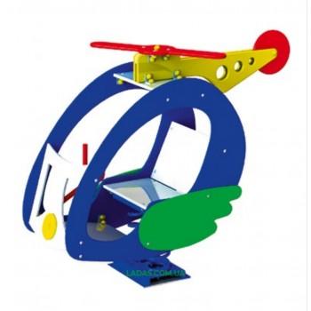 Качалка на пружине Вертолет