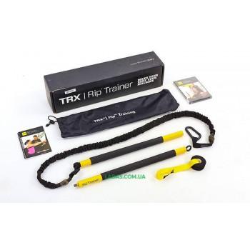 Палка-тренажер TRX Rip Trainer (с амортизатором и дверным креплением)