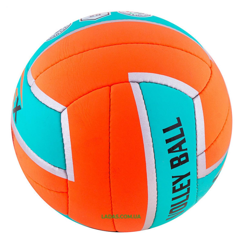 Мяч волейбольный Ronex (Cordly, №5, сшит вручную)