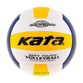 Мяч волейбольный Kata MVA200 (PU, №5, клееный)
