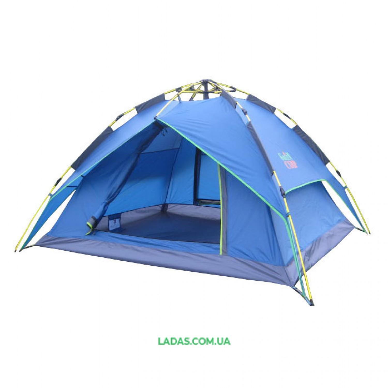 Палатка-автомат трехместная Green Camp 1831