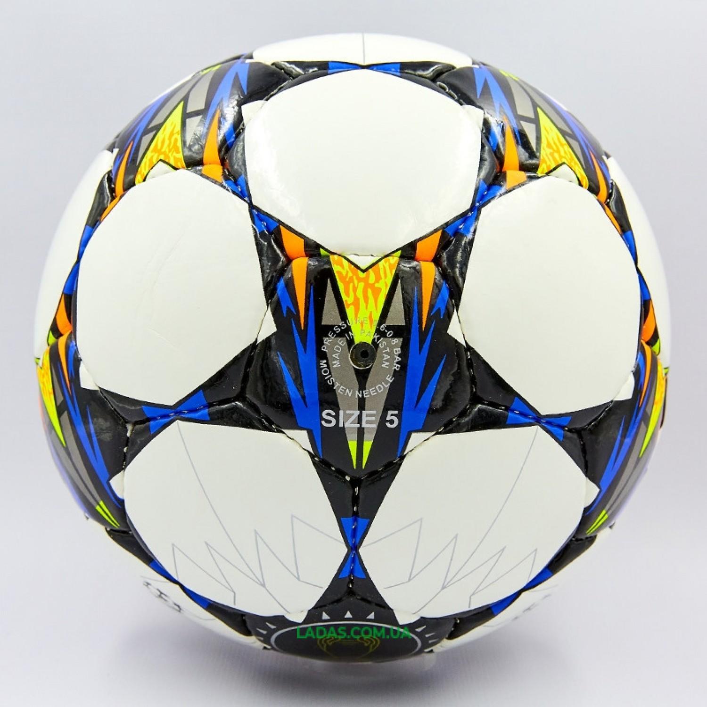 Мяч футбольный №5 PU ламин. LIGA CHAMPIONS 2018 (№5, 5 сл., сшит вручную)