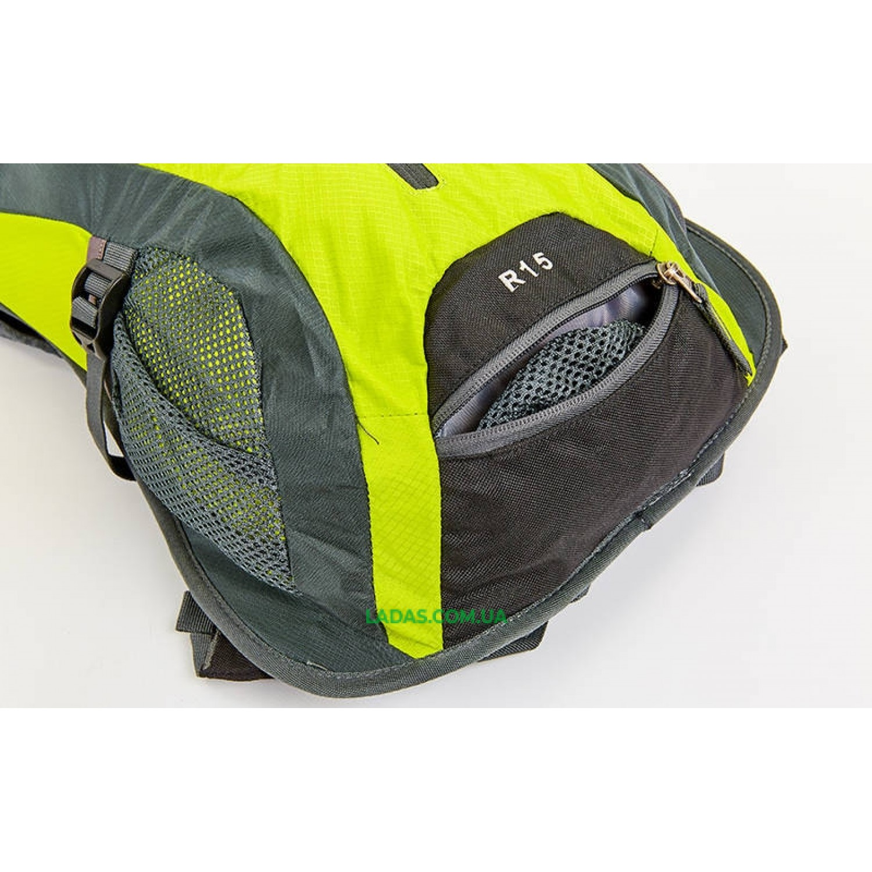 Рюкзак спортивный с жесткой спинкой GA-2081 (нейлон, р-р 31х8х43см )