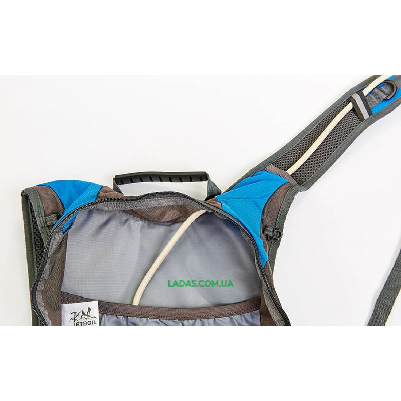 Рюкзак спортивный с жесткой спинкой GA-1351 (нейлон, р-р 29х17х42см)