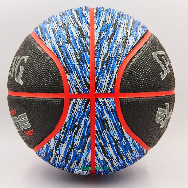 Мяч баскетбольный резиновый №7 SPALDING NBA Extreme SGT