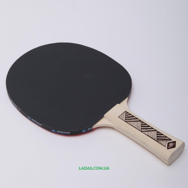 Набор для настольного тенниса 2 ракетки, 3 мяча DONIC LEVEL 150 CHAMPS LINE Реплика