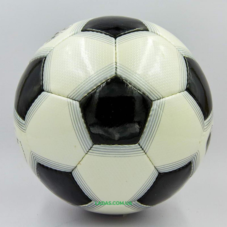 Мяч футбольный №4 PU ламин. OFFICIAL FB-0170 цвета в ассортименте (№4, 5 сл., сшит вручную)