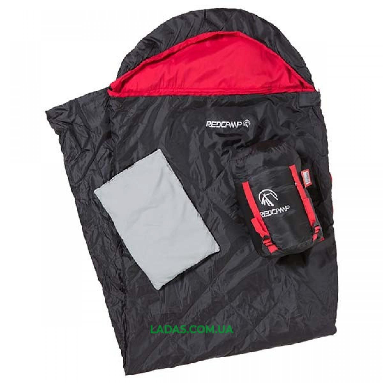 Спальный мешок с капюшоном REDCAMP RC484/2-15BG (PL, 200 на м2, р-р 210*75, цвета в ассорт.)