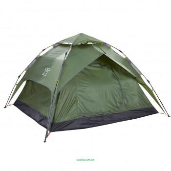 Палатка-автомат с автоматическим каркасом 4-х местная (р-р 2х2,3х1,4м)