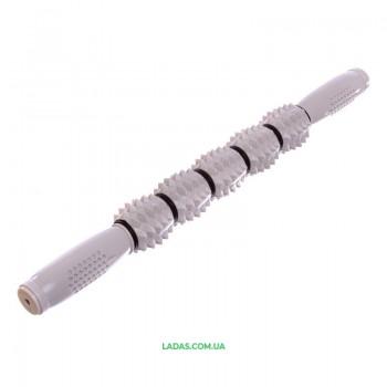 Массажер-палка роликовый 5 массажеров Record Massager Bar (длина 43см)