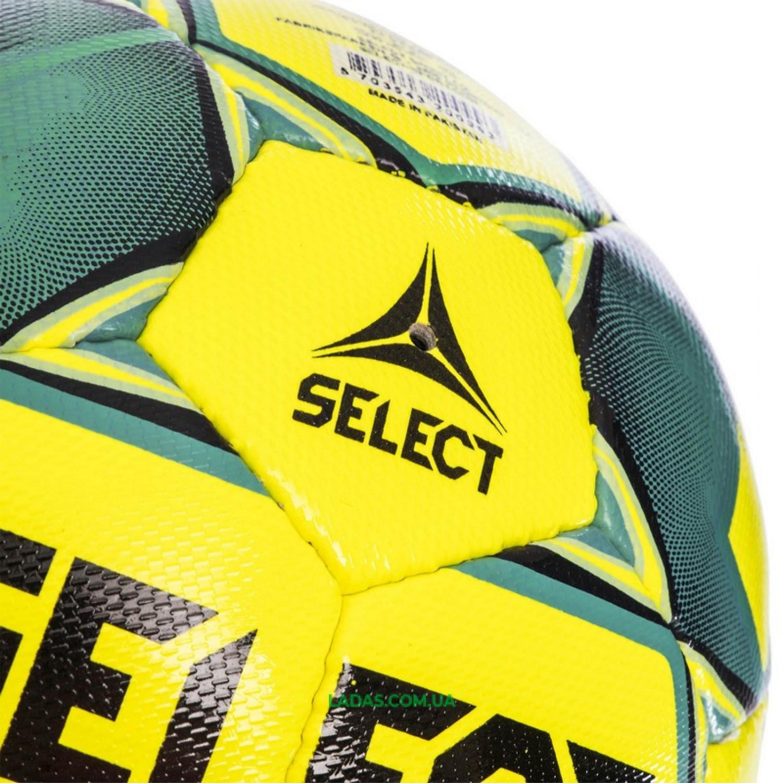 Мяч футбольный №5 SELECT TEAM FIFA (FPUS 1300, желто-бирюзовый)