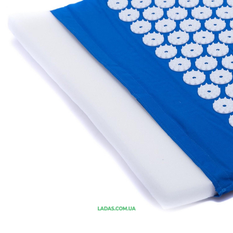 Коврик ортопедический массажный (Acupressure mat) Ипликатор Кузнецова (р-р 63x40см)