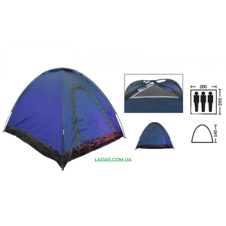 Палатка-автомат трехместная (р-р 2х2х1,4м)