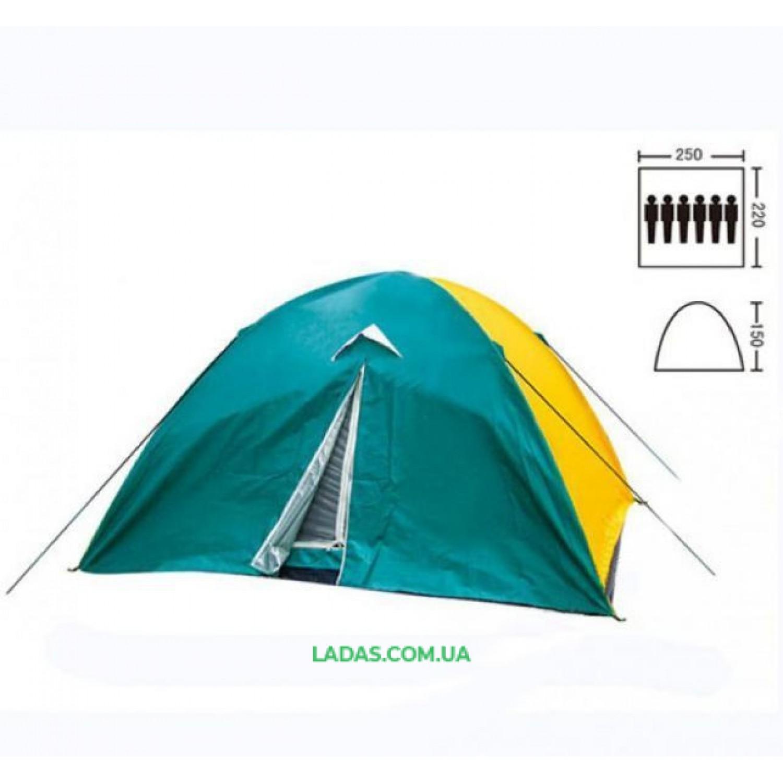 Палатка кемпинговая с тентом