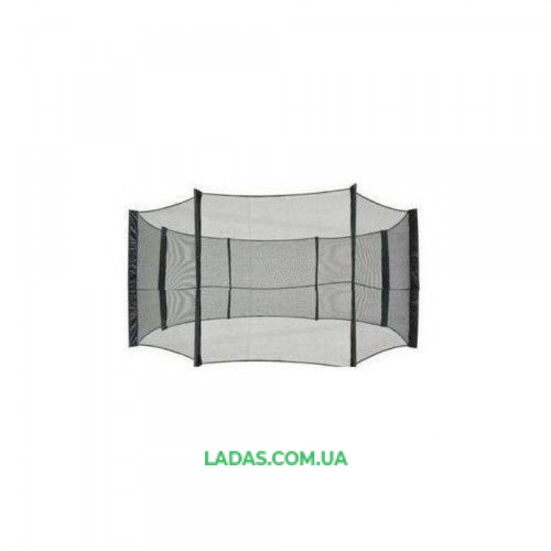 Сетка защитная (ограждение) для батута 12ft (диаметр 3,65 м, 8 стоек в комплекте)