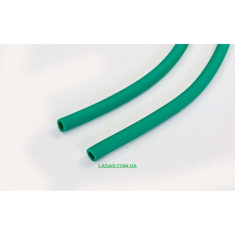 Жгут эластичный трубчатый спортивный (латекс, d-6 x 9мм, l-1000см, зеленый)