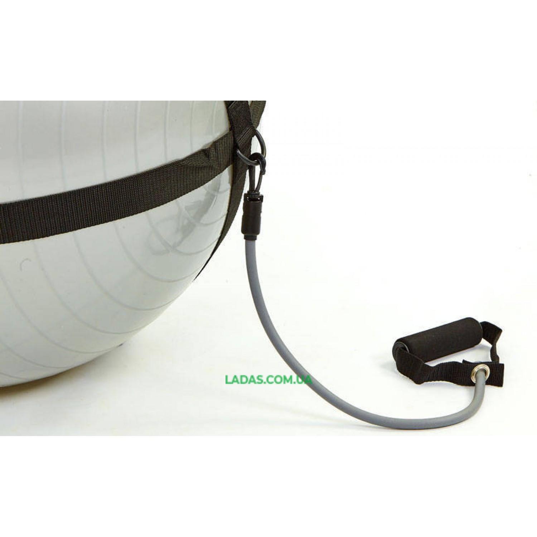 Ремень с эспандерами на фитбол диаметром 65 см BODY BALL STRAP (без фитбола)