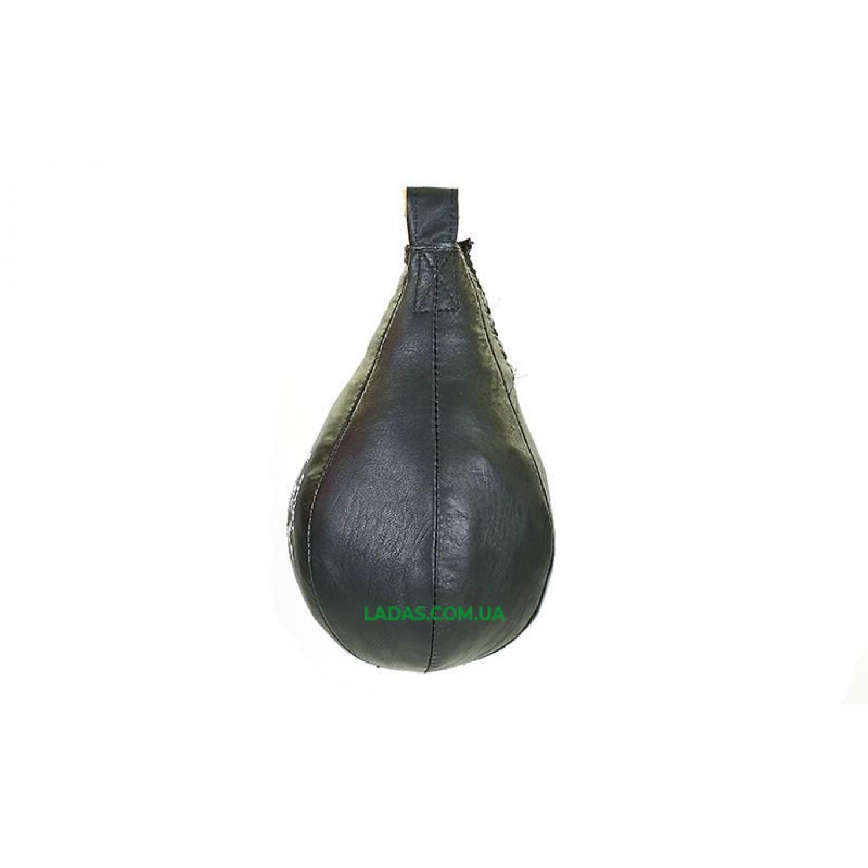Груша набивная Каплевидная подвесная ЛЕВ UR (кожа, наполн.-ветошь,вес-3кг)