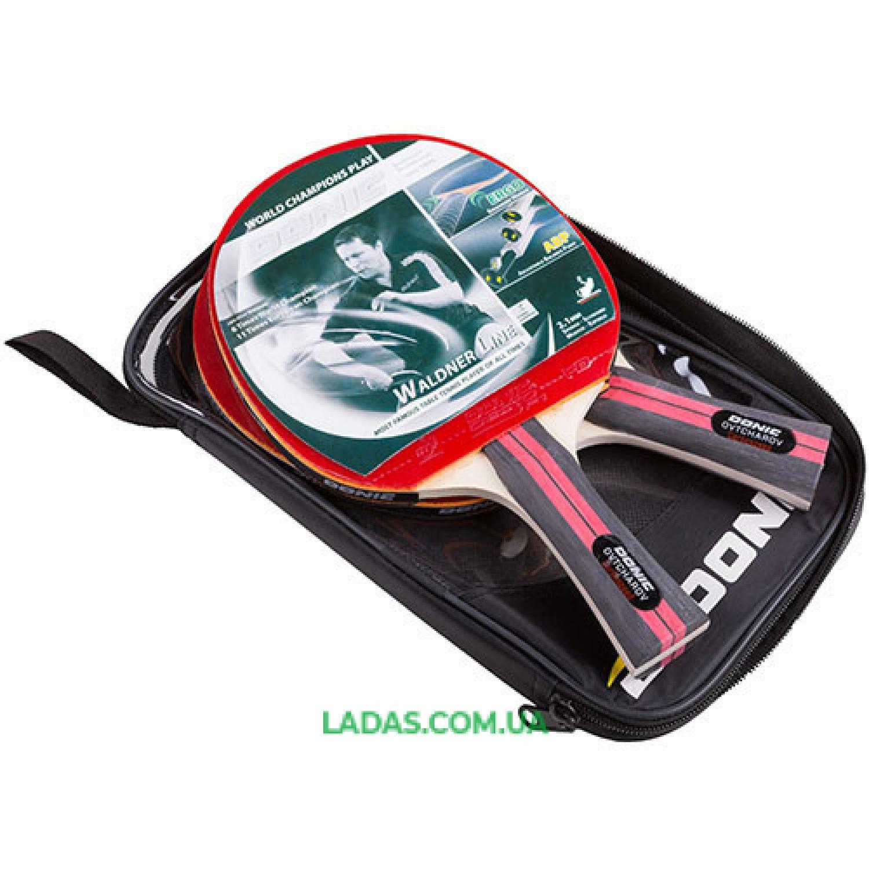Набор для настольного тенниса Donic (2 ракетки в чехле) Реплика