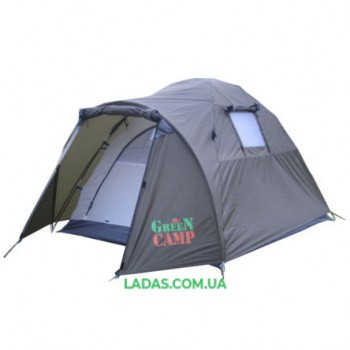 Палатка двухместная Green Camp GC-3006