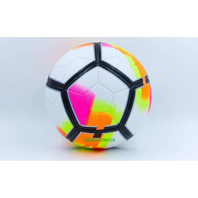 Мяч футбольный №5 PU ламин клееный PREMIER LEAGUE 2018 La Liga FB-6653