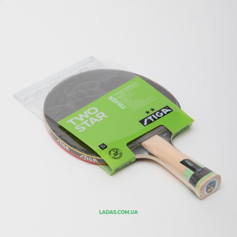 Ракетка для настольного тенниса 1 штука STIGA TRIXER 2* Реплика