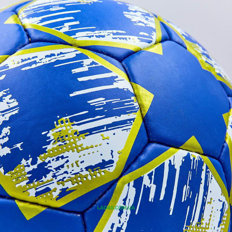 Мяч футбольный №5 Гриппи CHELSEA (№5, 5 сл., сшит вручную)
