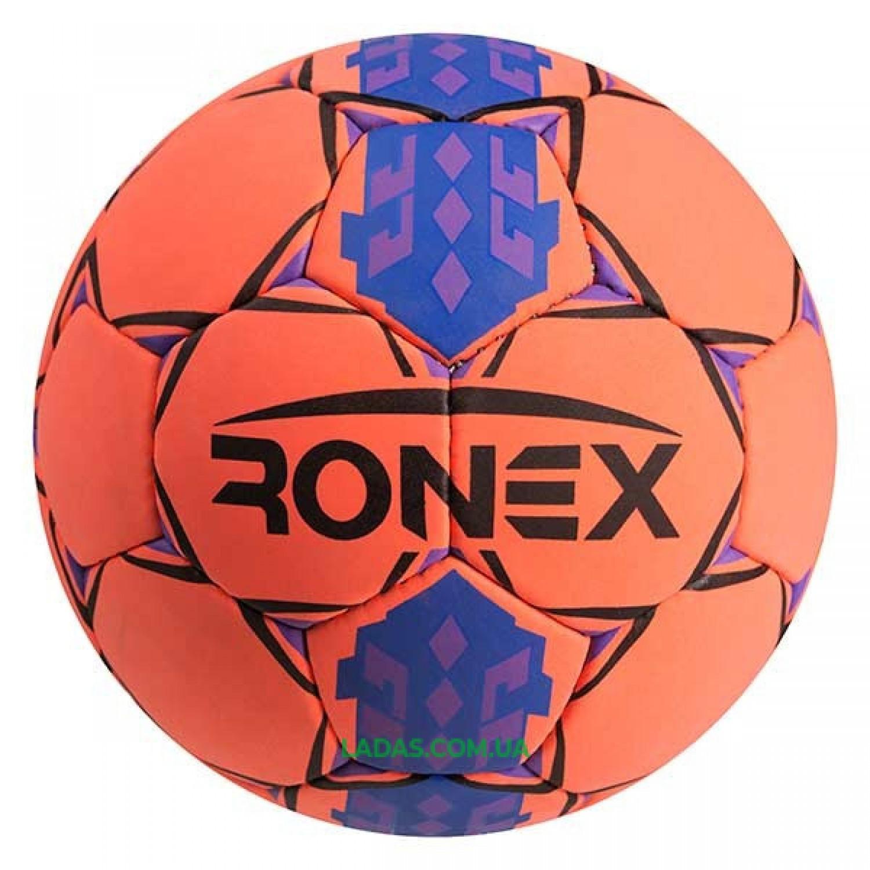 Мяч футбольный Cordly Ronex/Hummer оранжевый RXR-HUM/2
