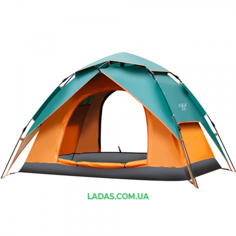 Палатка-автомат с автоматическим каркасом 2-х местная (р-р 2,2х1,5х1,3м)