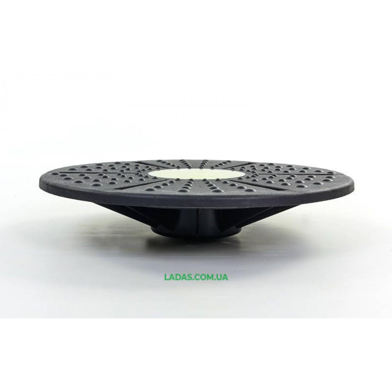 Диск балансировочный с лабиринтом BALANCE BOARD (пластик, d-39см, h-8см)