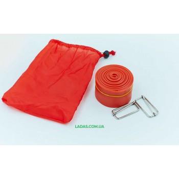 Жгут эластичный спортивный, лента VooDoo Floss Band (латекс,l-2,5м, 5смx2мм)