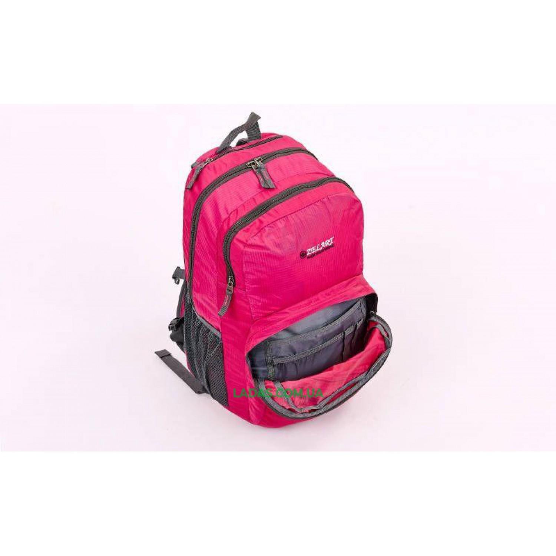 Рюкзак спортивный с жесткой спинкой ZEL (нейлон, р-р 49х30х13см)