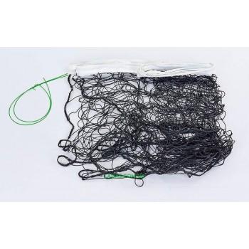 Сетка для волейбола (PE, 3мм, р-р 9,5x1м, ячейка 12x12см, с металл. тросом)
