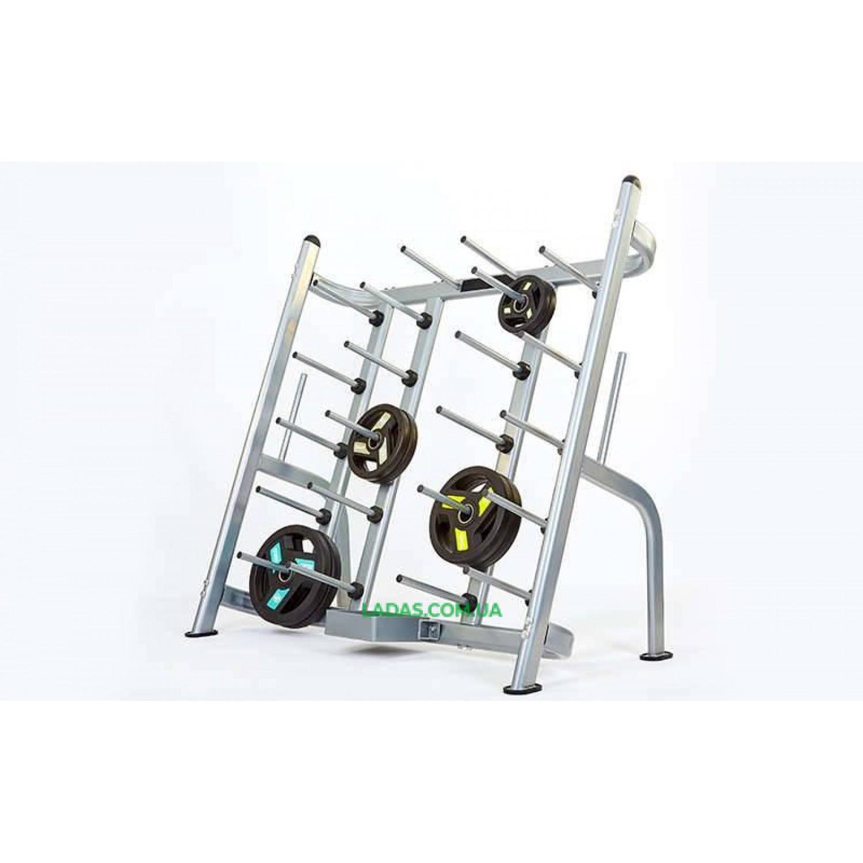 Подставка(стойка) для штанг фитнес-памп (металл, р-р 160х81х150cм)