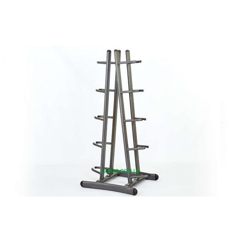 Подставка (стойка) для медболов на 10 мячей(металл, р-р 74х63х160см)