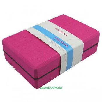 Блок для йоги (23*15*7,5 см, 450 гр)