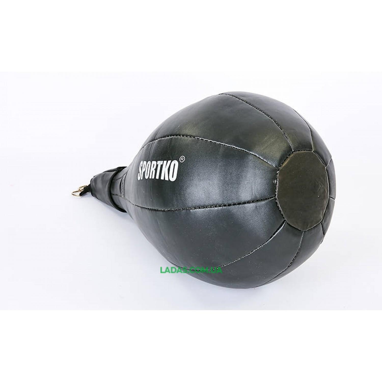 Груша набивная каплевидная подвесная Sportko (d-45см, l-60см, вес-10кг)