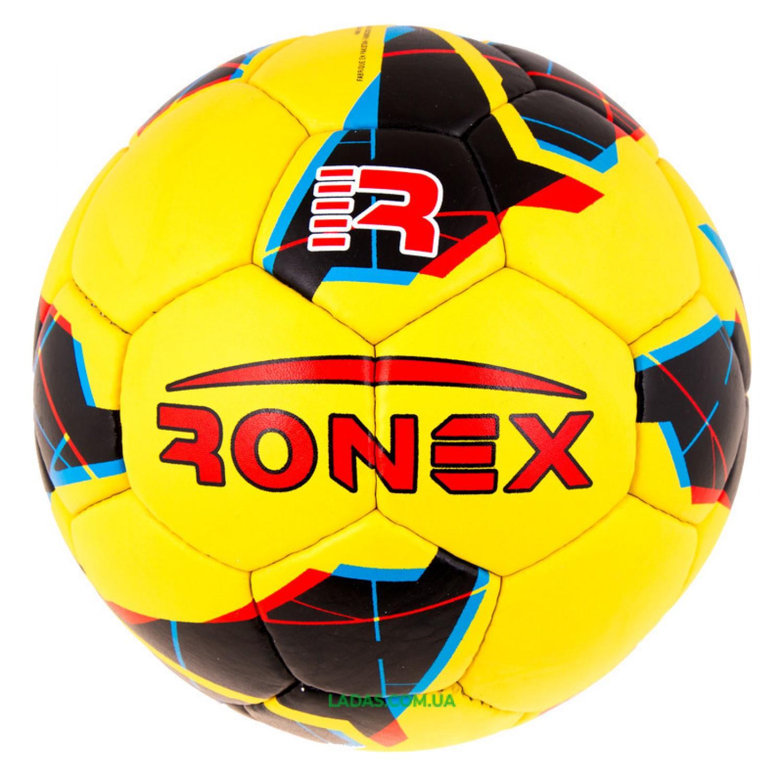 Мяч футбольный Grippy Ronex-JM2 (сшит вручную)