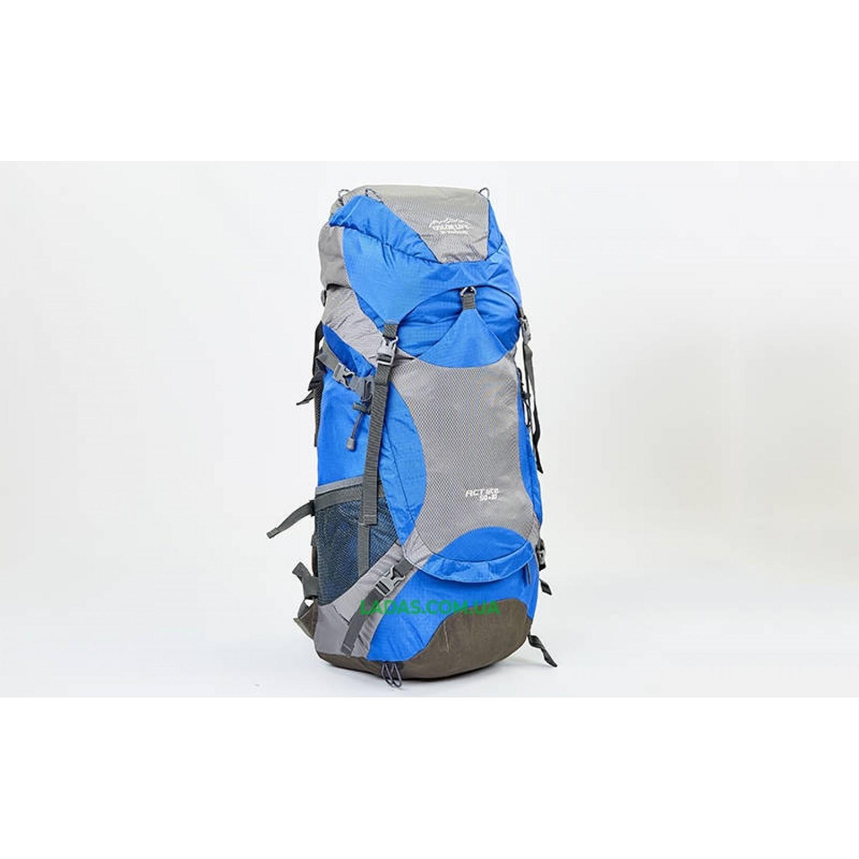 Рюкзак туристический с каркасной спинкой COLOR LIFE 50+10 литров