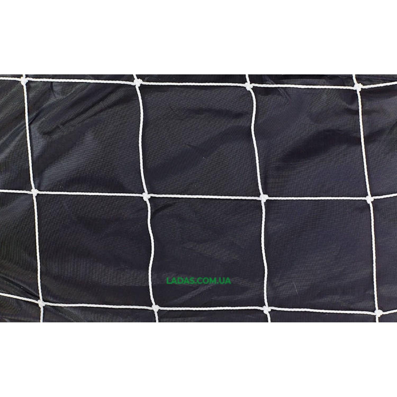 Сетка на ворота футзальные, гандбольные тренировочная (2шт) (PE 3мм, р-р 2мx3мx1м)