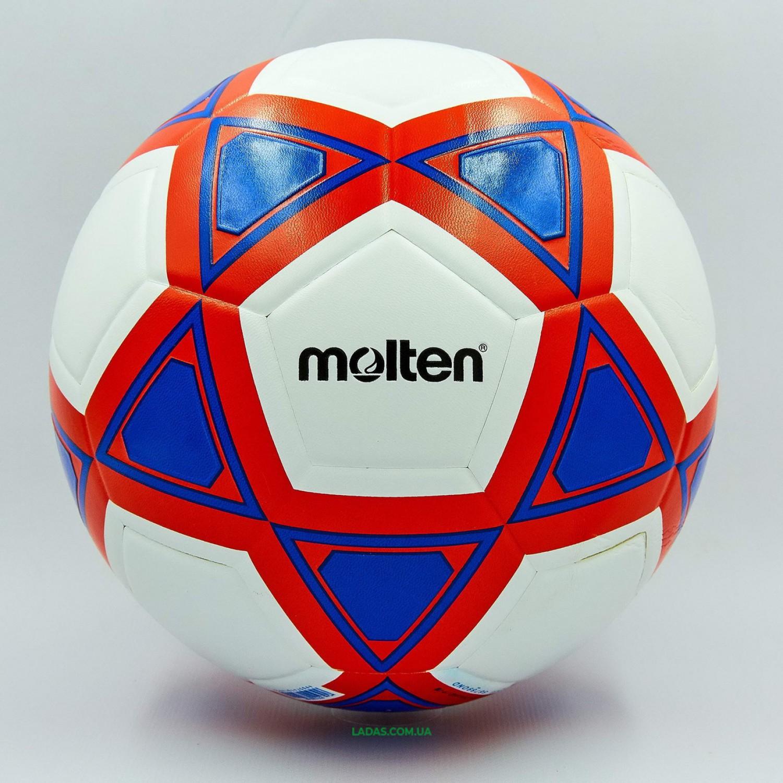 Мяч футбольный №5 PU MOLTEN (клееный)