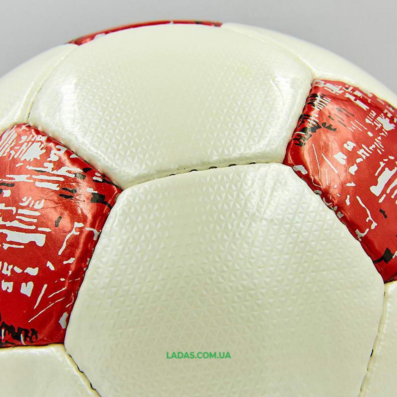 Мяч футбольный №5 PU ламинированный OFFICIAL (сшит вручную)