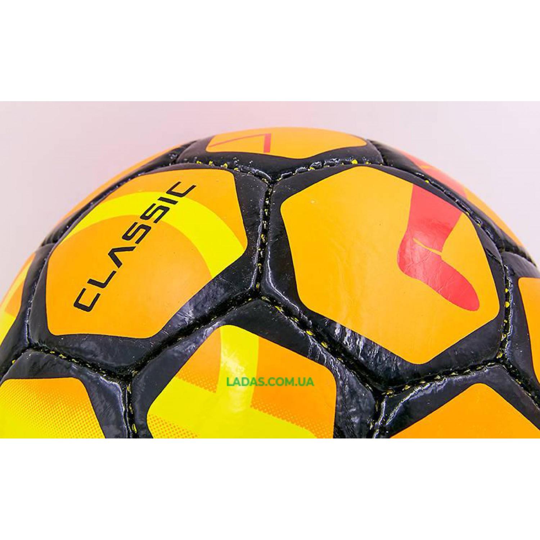 Мяч футбольный №5 PU ламинированный ST CLASSIC REPLICA (бело-синий, сшит вручную)