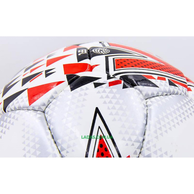 Мяч футбольный №5 PU ламинированный MITER (сшит вручную)