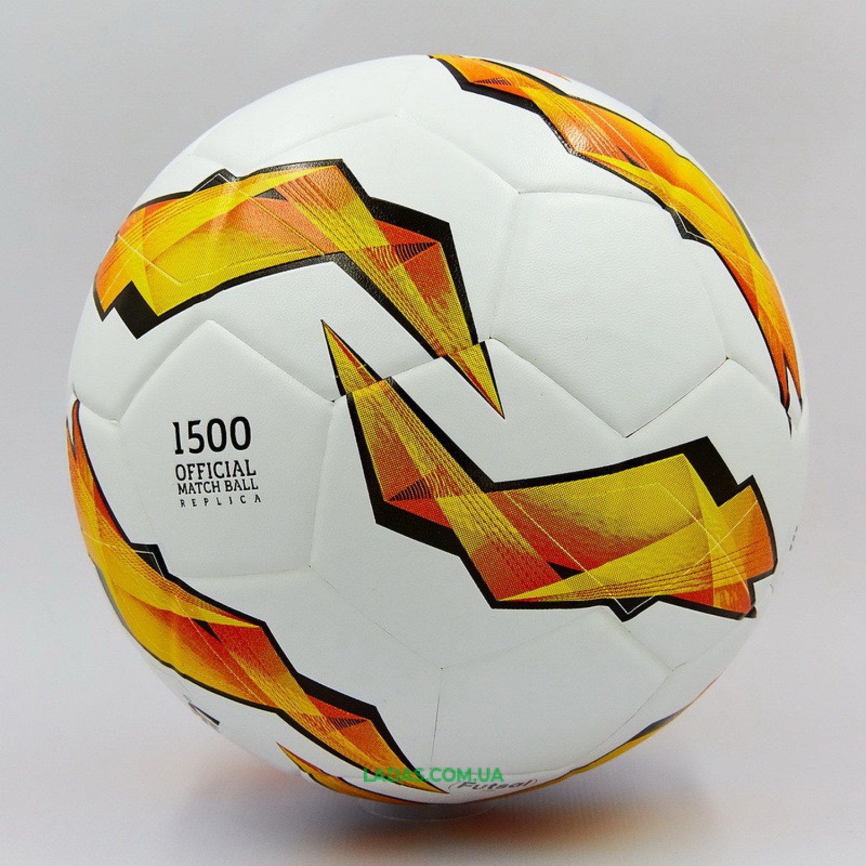 Мяч для футзала №4 ламинированный MOLTEN UEFA Europa League 2018-2019 (клееный)