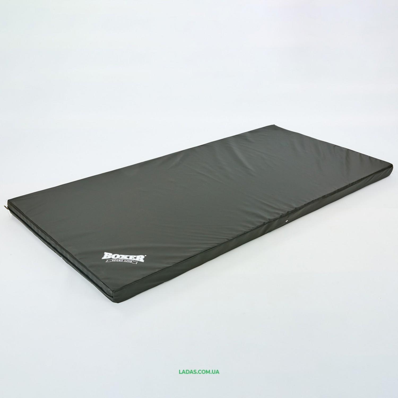 Мат спортивный Кожвинил 2x1м x 8см BOXER (наполнитель-поролон,плотность 25кг/м)