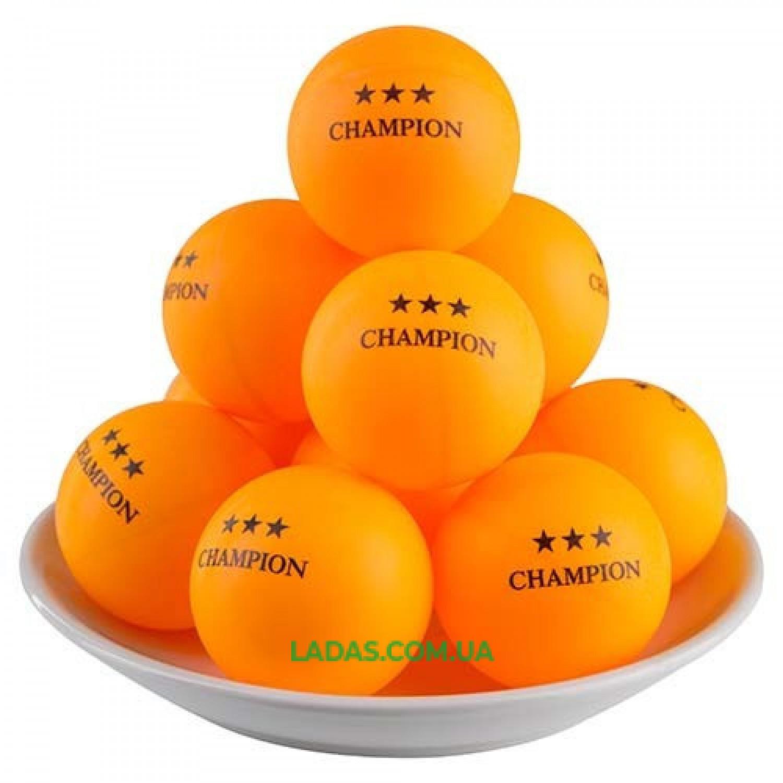 Шарики для настольного тенниса оранжевые Batterfly (60шт в банке)