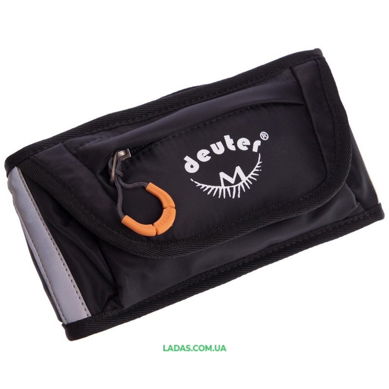 Пояс-сумка DTR (нейлон, размер 55х12х3см, черный)